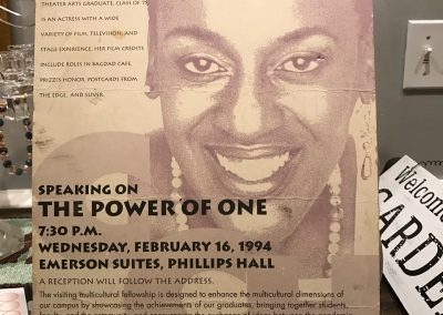CCH Pounder speaking at Ithaca College, 1994