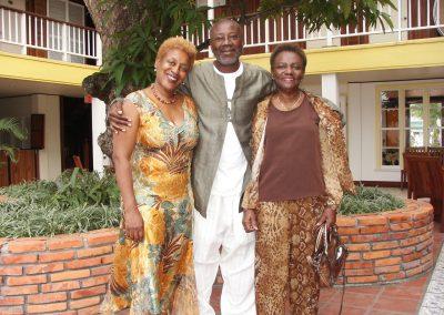 CC, Boubacar Kone and Betsy Pounder