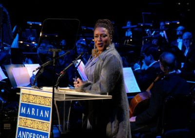 Hosting the Marian Anderson Awards, 2008