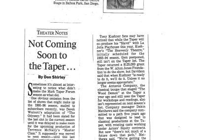 LA Times: April 30, 1995