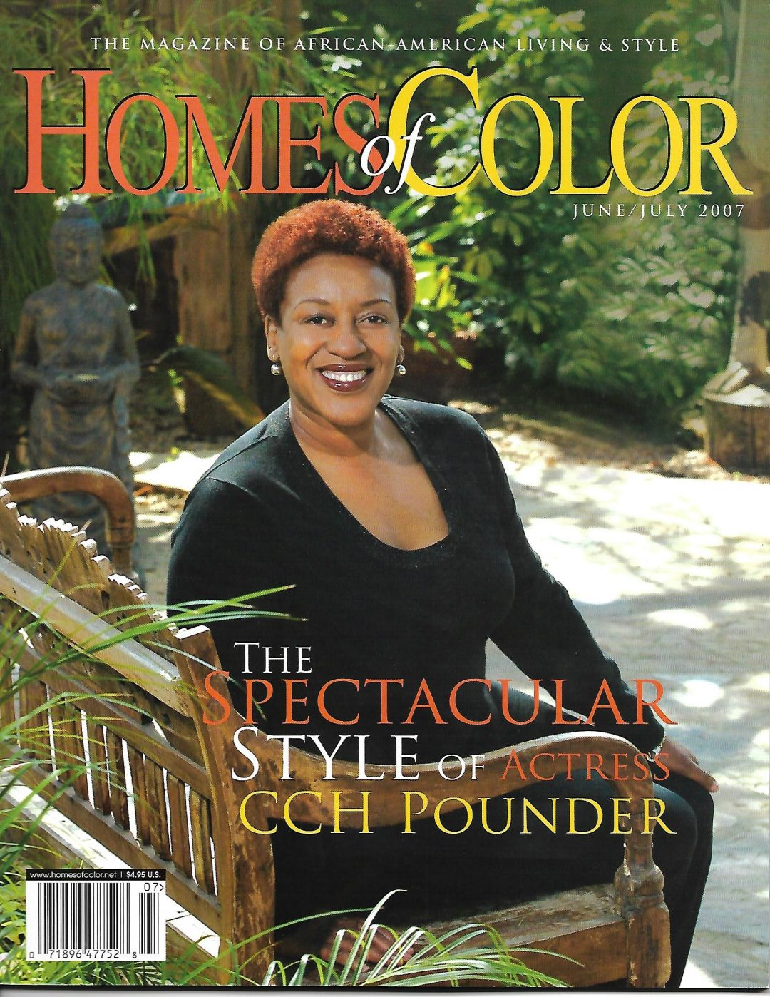 Homes of Color: June/ July 2007