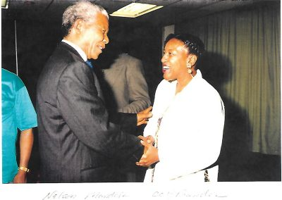 Nelson Mandela and CCH Pounder