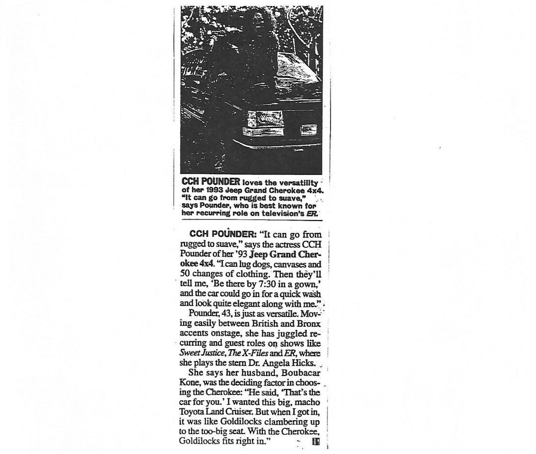Parade Magazine: October 1996