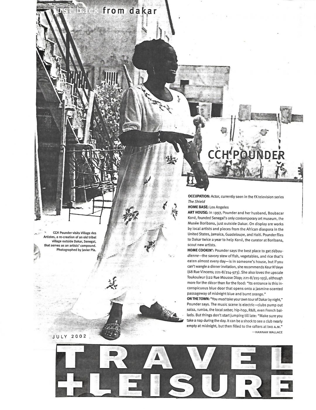 Travel and Leisure: July 2002