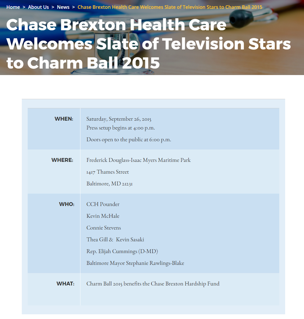 www.chasebrexton.org: September 26, 2015