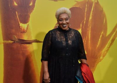 "CCH Pounder attends the ""Godzilla: King of the Monsters' premiere in Los Angeles"