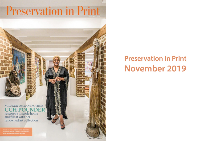 CCH Pounder featured in Preservation In Print Magazine