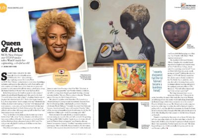 CBS Watch! Magazine: Queen of the Arts, CCH Pounder